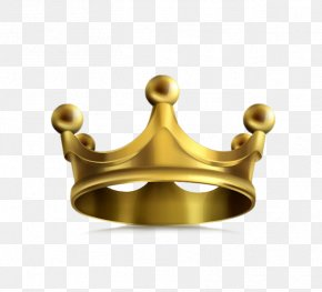 Golden Crown - Crown Gold Icon PNG