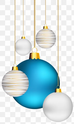 Christmas Balls Transparent Clip-Art Image - Christmas Ornament Ball Clip Art PNG