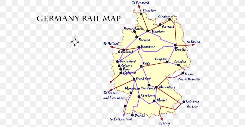 Rail Transport In Germany European Night Trains Rail ...