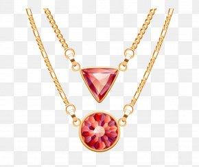 Gemstone Pendant - Necklace Jewellery Pendant Clip Art PNG