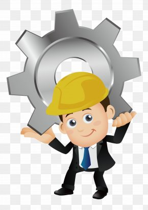 Engineer - Architectural Engineering Cartoon Laborer PNG