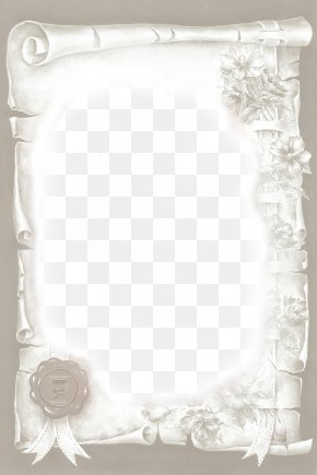 Parchment Scroll Background PNG