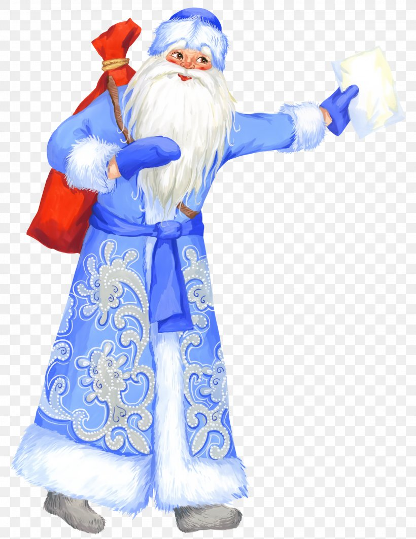 Ded Moroz Snegurochka New Year Tree Santa Claus, PNG, 2314x3000px, Ded Moroz, Animation, Christmas, Christmas Ornament, Costume Download Free