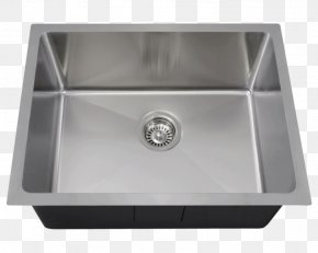 Sink - Kitchen Sink Stainless Steel Bowl Sink MR Direct PNG