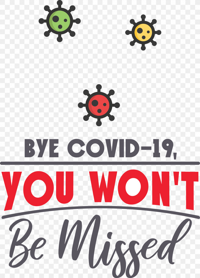 Bye COVID19 Coronavirus, PNG, 2160x3000px, Coronavirus, Gadugadu, Happiness, Line, Logo Download Free