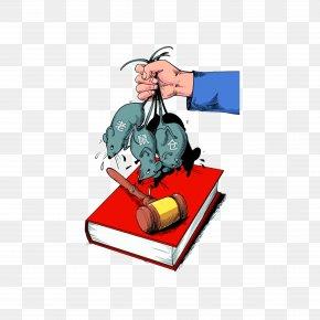 Crack Down On Rat Stocks - Rat Cartoon Clip Art PNG