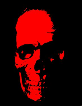 Free Skull Pictures - Red Skull Human Skull Symbolism Clip Art PNG