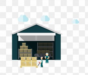 People Vector Material Warehouse - Warehouse Factory PNG