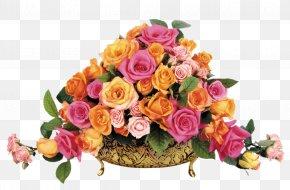 Flower Bouquet - Flower Bouquet Gift Garden Roses Artificial Flower PNG