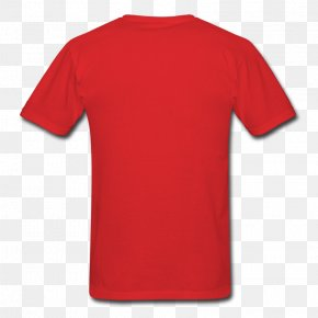Tshirt - T-shirt Clothing Fruit Of The Loom Red PNG