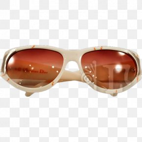 Sunglasses - Goggles Sunglasses Brown PNG