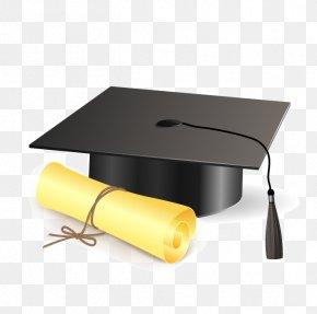 Dr. Cap Vector - Square Academic Cap Graduation Ceremony Clip Art PNG