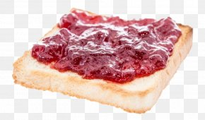 Toast With Jam - Toast Breakfast Marmalade White Bread Baked Beans PNG