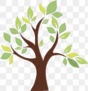 Flower Plant Stem - Tree Green Leaf Branch Plant PNG