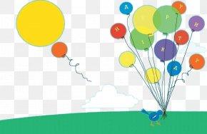 Background Balloons Cartoon Child - Balloon Cartoon Child PNG