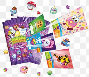 Moshi Monsters - Moshi Monsters Mind Candy Playing Card Game Collectable Trading Cards PNG