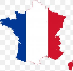 Pictures Of The French Flag - Flag Of France Map Clip Art PNG