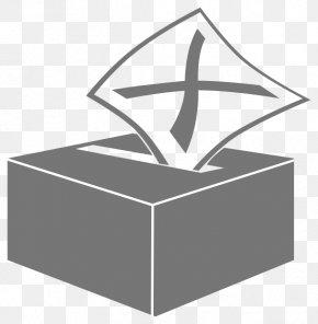 Cartoon Ballot Box - Ballot Box Voting Election Clip Art PNG