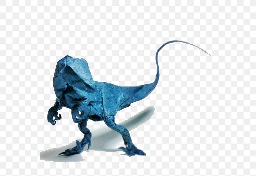 ORIGAMI T-REX (Jo Nakashima) - Dinosaur #5 - YouTube | 564x820