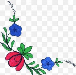 Flower Drawing - Flower Floral Design Drawing Clip Art PNG