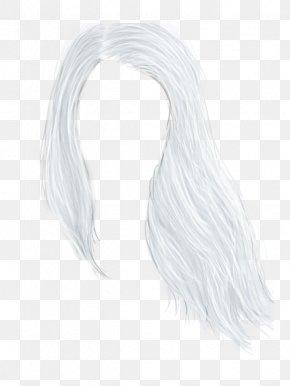 Long Hair - Long Hair Drawing Wig Neck PNG
