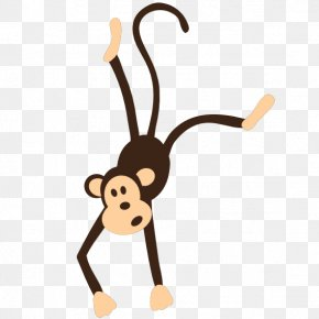 Monkey Graphics - Chimpanzee Monkey Ape Free Content Clip Art PNG