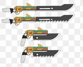 Knife - Knife Hunting & Survival Knives Melee Weapon Sword PNG
