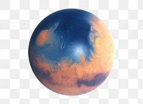 Planet Surface - Mars Ocean Hypothesis Water On Mars Extraterrestrial Liquid Water PNG