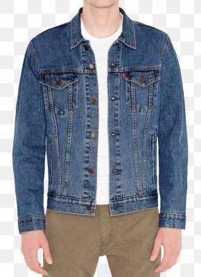 Jacket - Levi Strauss & Co. Stone Washing Jean Jacket Denim PNG