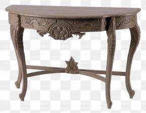 Table - Table Designer Desk PNG