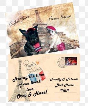 Eiffel Tower - Eiffel Tower 3rd Arrondissement Dog Croissant Advertising PNG
