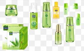 100 Birds Gazelle - Glass Bottle Cosmetics Pechoin PNG