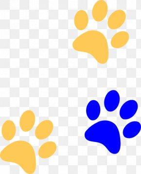 Paw Print Cliparts - Cougar Dog Black Panther Wildcat Coyote PNG