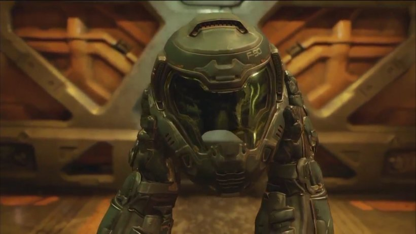 Doom: Unto The Evil Fallout 4 Electronic Entertainment Expo 2015, PNG, 1366x768px, Doom Unto The Evil, Action Figure, Bethesda Softworks, Bfg, Doom Download Free