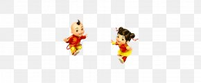 Chinese New Year Chinese Style Doll - Cartoon Chinese New Year Clip Art PNG