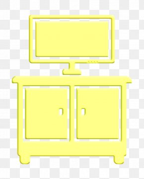 Computer Monitor Accessory Table - Cupboard Icon Furniture Icon Living Room Icon PNG