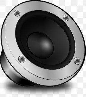 Speaker Sound Black - Loudspeaker Free Content Clip Art PNG