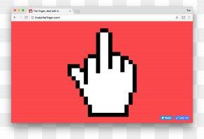 Middle Finger - The Finger Middle Finger Index Finger PNG