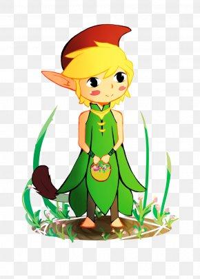 Ribcev Laz - The Legend Of Zelda: The Minish Cap Link Video Games Fan Art Digital Art PNG