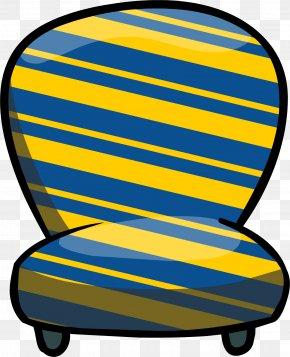Stripes - Club Penguin Island Furniture Chair Clip Art PNG