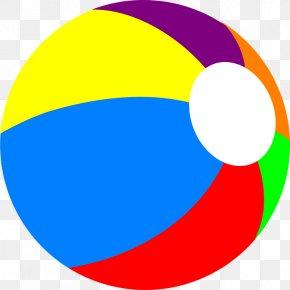 Swimming Pool Ball Clipart - Beach Ball Clip Art PNG