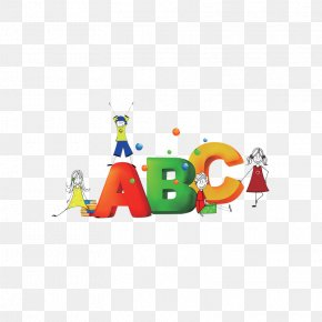 ABC Cartoon Creative Children's Toys - Cartoon Child PNG