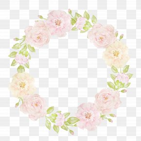 Hand-painted Garlands - Floral Design Flower Watercolor Painting Garland Clip Art PNG