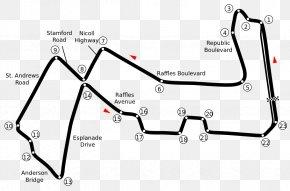 2008 Mercedesbenz Rclass - Marina Bay Street Circuit Singapore Grand Prix 2018 FIA Formula One World Championship Bahrain International Circuit Baku City Circuit PNG