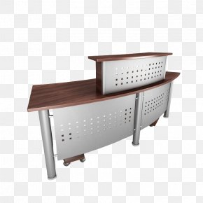 Iron Desk - Table Paper Office Furniture Desk PNG