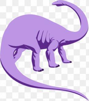 Purple Dinosaur Cliparts - Dinosaur Triceratops Clip Art PNG