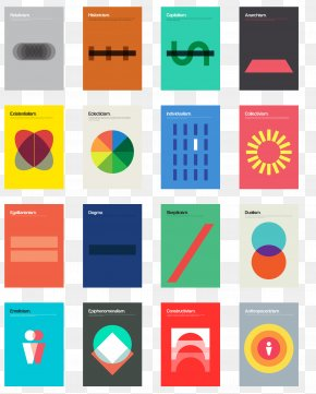Shapes Graphic Design - Philographics: Big Ideas In Simple Shapes Graphic Design Poster PNG