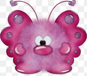 Magenta Teddy Bear - Teddy Bear PNG