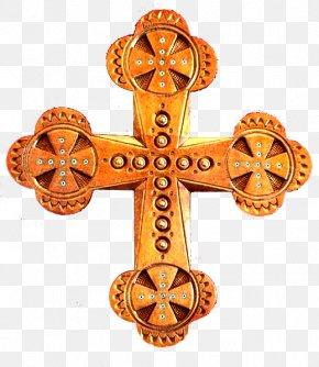 Christian Cross - Christian Cross 2014 Russian Military Intervention In Ukraine Flag Of Ukraine PNG