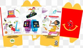 Toy - Happy Meal Chicken Nugget Hamburger Kids' Meal Toy PNG